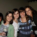 Con mis amigas en el cumple de Lucía Sabbione