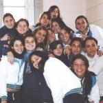 En el colegio con mis amigas